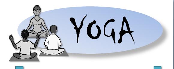 Reprise du Yoga adultes à partir du lundi19 septembre 2016 de 18 h45 à 20 h 15 Pour connaître les tarifs et les modalités d'inscription, contactez nous !