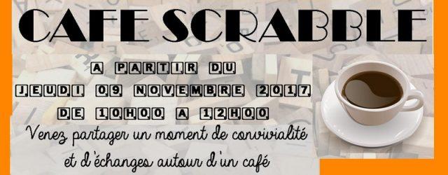 A partir du jeudi 09 novembre de 10 h à 12 h, venez jouer au scrabble au CENTRE SOCIAL.
