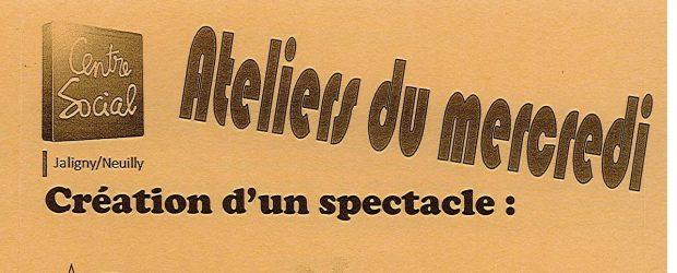 """Les Ateliers du Mercredi (Accueil de loisirs périscolaire) reprendront à partir du 5 septembre 2018. Chaque mercredi en période scolaire. Thématique : """"Création d'un spectacle"""" (danse, chants, théâtre…) Plus de […]"""