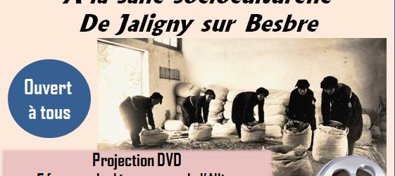 Le Centre-Social Jaligny Neuilly propose, en partenariat avec le club des ainés de Jaligny et René LAPLANCHE, une projection de DVD évoquant les conditions de vie des femmes pendant la […]