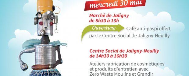 Le Centre-Social Jaligny Neuilly participe au lancement de la prochaine Semaine Européenne du Développement Durable. Le Mercredi 30 mai 2018 sur le marché de Jaligny sur Besbre de 08h30 à […]